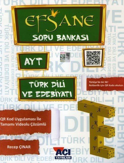 Açı Yayınları AYT Türk Dili ve Edebiyatı EFSANE Soru Bankası