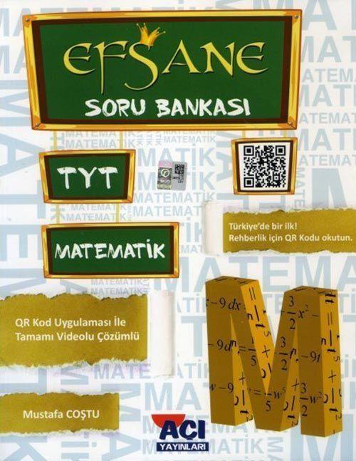 Açı Yayınları TYT Matematik EFSANE Soru Bankası