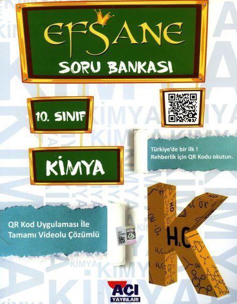 Açı Yayınları 10. Sınıf Kimya EFSANE Soru Bankası