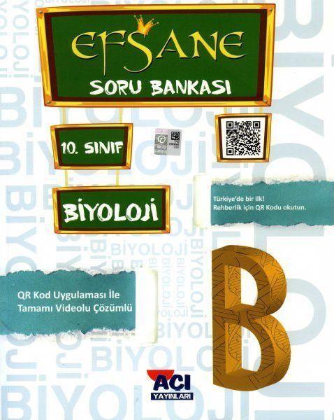 Açı Yayınları 10. Sınıf Biyoloji EFSANE Soru Bankası