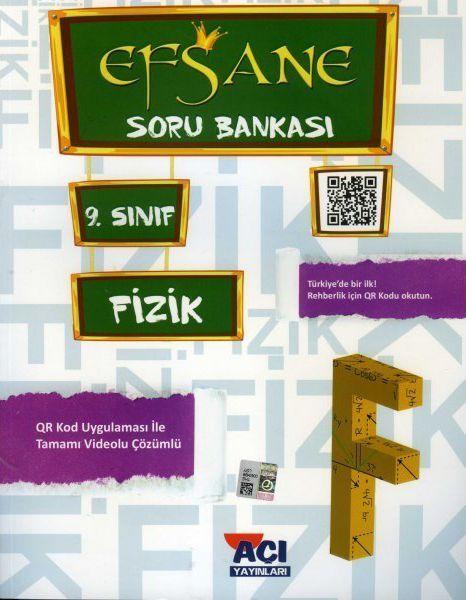 Açı Yayınları 9. Sınıf Fizik EFSANE Soru Bankası