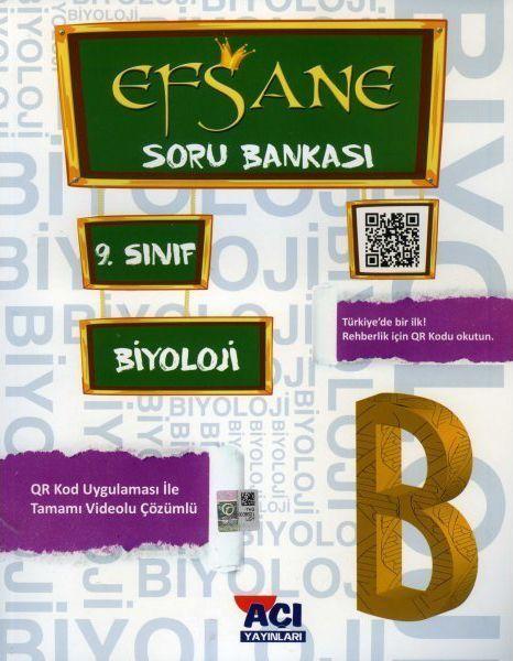 Açı Yayınları 9. Sınıf Biyoloji EFSANE Soru Bankası