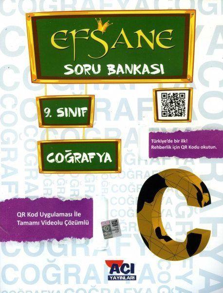 Açı Yayınları 9. Sınıf Coğrafya EFSANE Soru Bankası