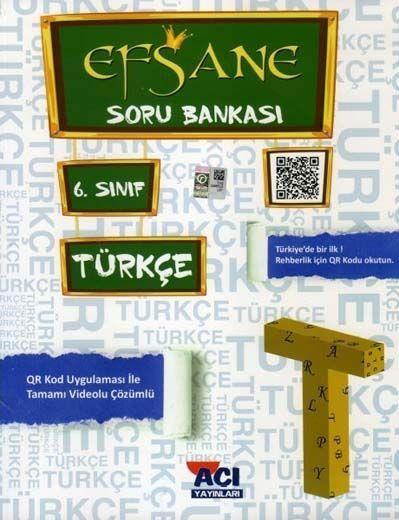 Açı Yayınları 6. Sınıf Türkçe EFSANE Soru Bankası