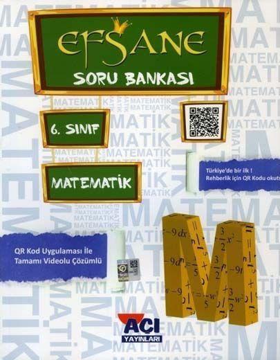 Açı Yayınları 6. Sınıf Matematik EFSANE Soru Bankası