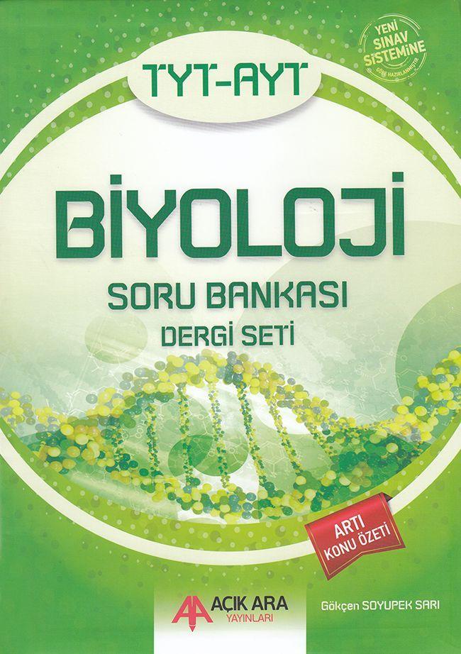 Açık Ara Yayınları TYT AYT Biyoloji Soru Bankası Dergi Seti