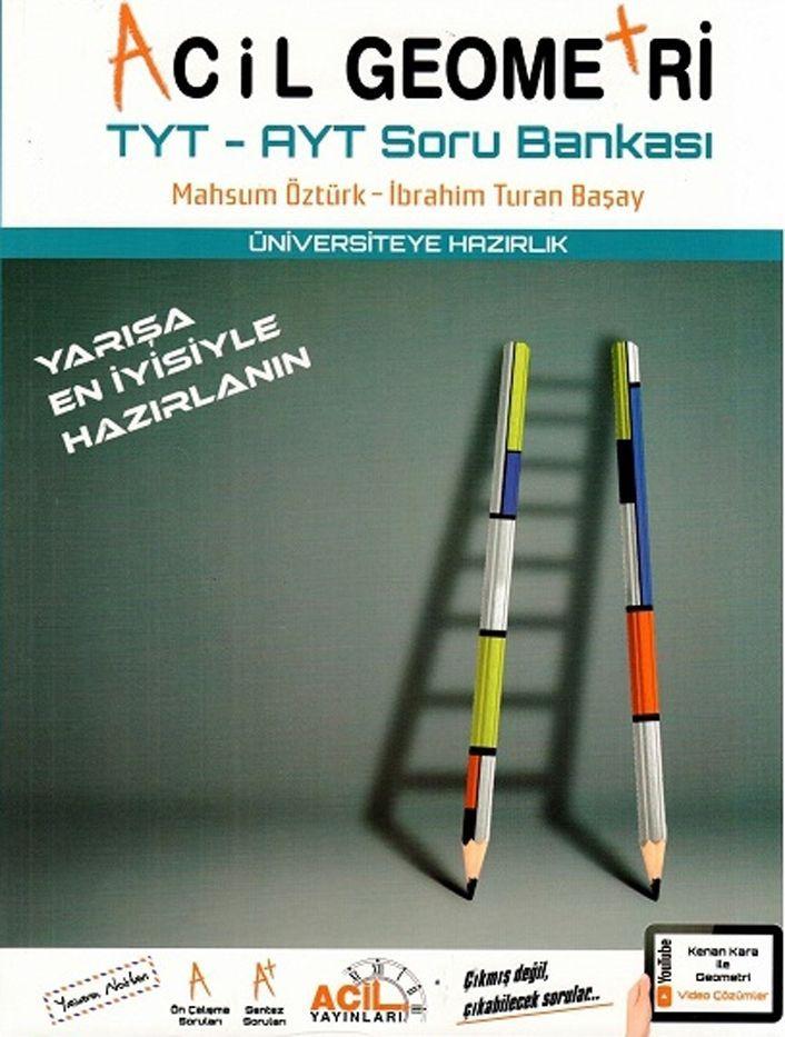 Acil Yayınları TYT AYT Acil Geometri Soru Bankası