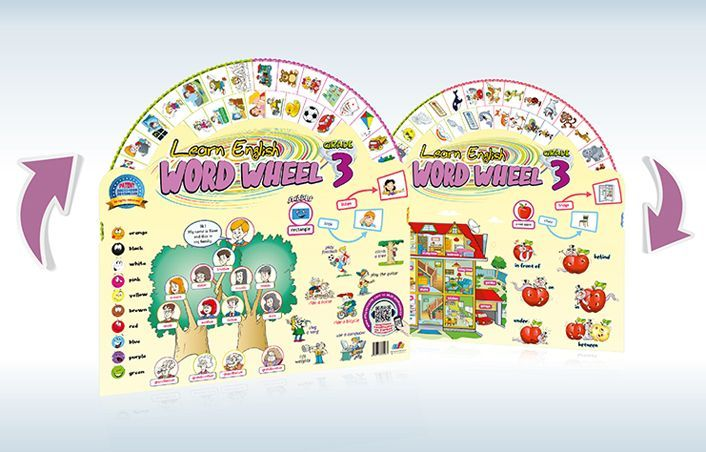 AFS Yayıncılık 3. Sınıf Word Wheel Grade