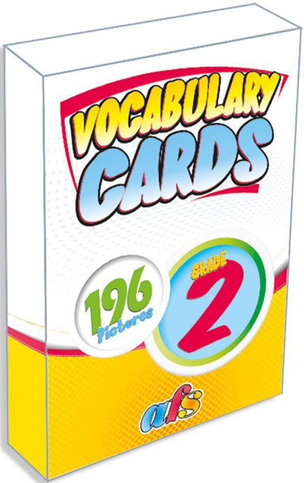 AFS Yayıncılık 2. Sınıf Vocabulary Cards