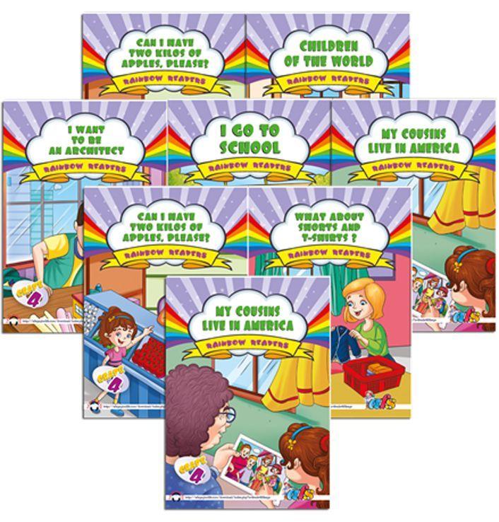 AFS Yayıncılık Rainbow Readers 4