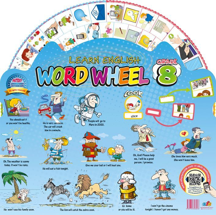 AFS Yayıncılık Word Wheel Grade 8
