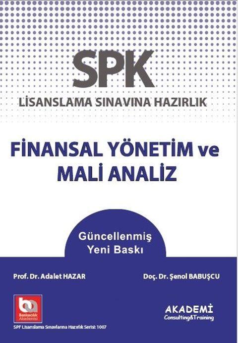 Akademi Eğitim SPF Finansal Yönetim ve Mali Analiz