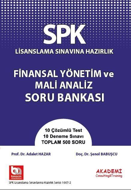 Akademi Eğitim SPK Finansal Yönetim ve Mali Analiz Soru Bankası