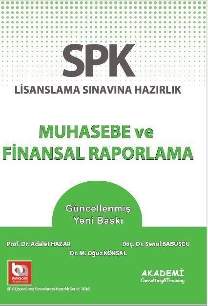 Akademi Eğitim SPK Muhasebe ve Finansal Raporlama Konu