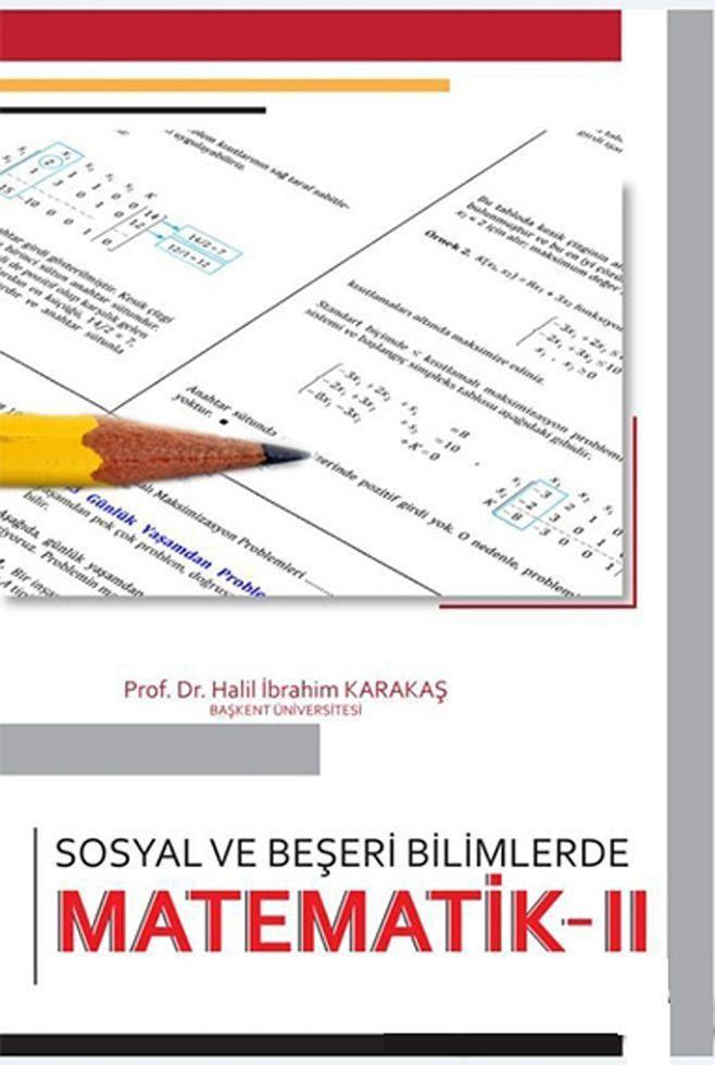 Akademi Yayınları Sosyal ve Beşeri Bilimlerde Matematik 2