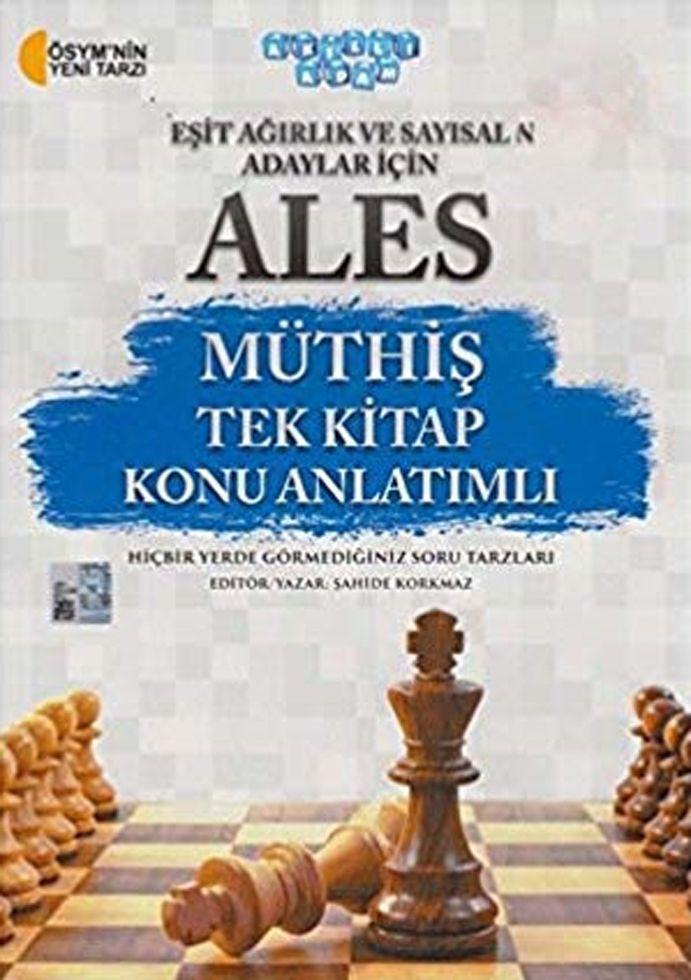 Akıllı Adam ALES Müthiş Eşit Ağırlık ve Sayısal Adaylar İçin Tek Kitap Konu Anlatımlı