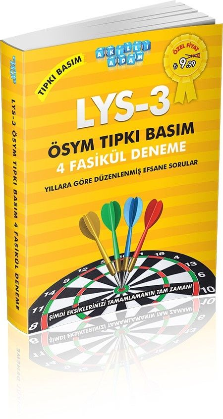 Akıllı Adam ÖSYM Tarzı LYS 3 Coğrafya 1 Türk Dili Edebiyatı 4 Fasikül Deneme