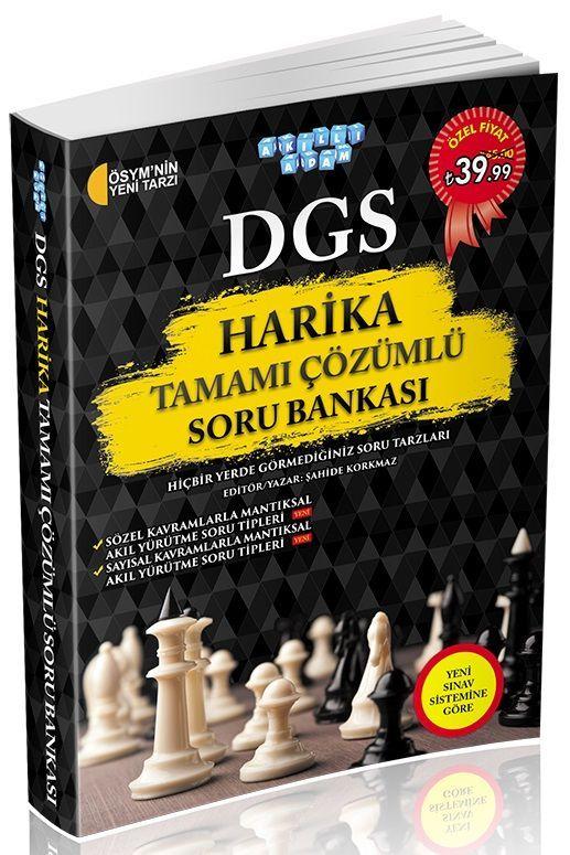 Akıllı Adam DGS Harika Tamamı Çözümlü Soru Bankası