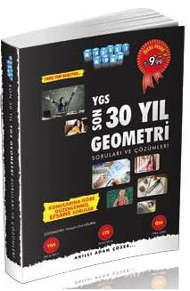 Akıllı Adam YGS Son 30 Yıl Geometri Soruları ve Çözümleri