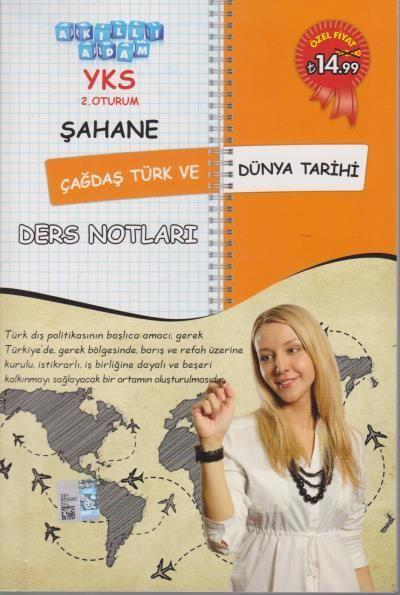 Akıllı Adam YKS Şahane Çağdaş Türk ve Dünya Tarihi Ders Notları