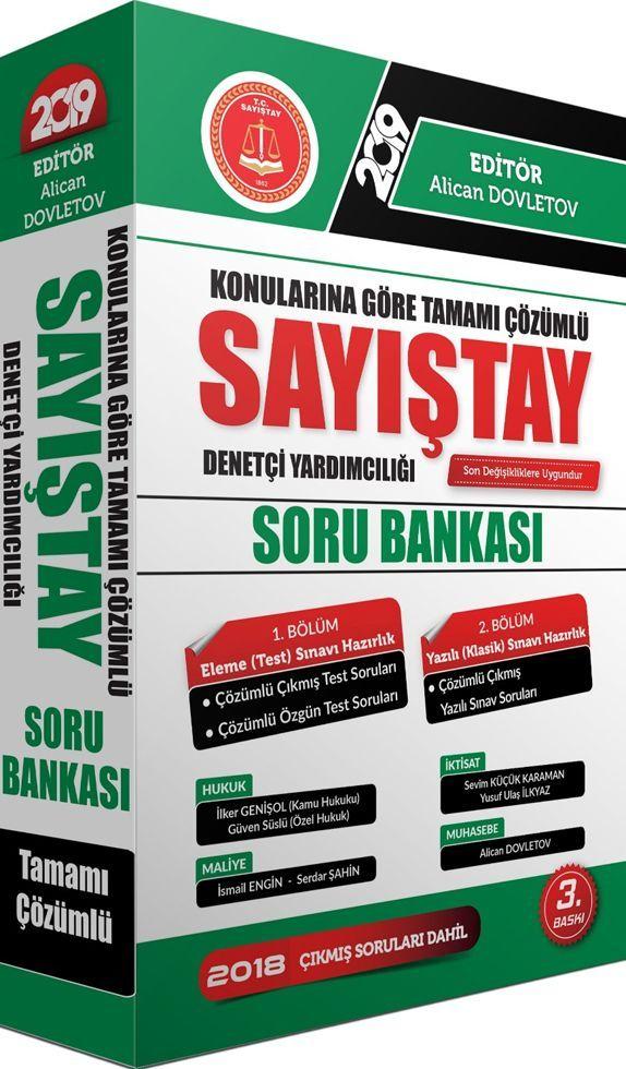 Akfon Yayınları 2019 Sayıştay Soru Bankası