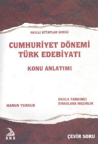 AKS Cumhuriyet Dönemi Türk Edebiyatı Konu Anlatımlı Soru Bankası