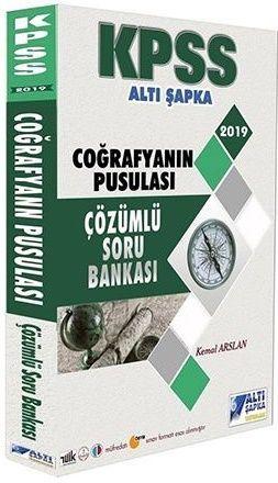 Altı Şapka Yayınları KPSS Coğrafya nın Pusulası Çözümlü Soru Bankası