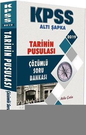 Altı Şapka Yayınları KPSS Tarihin Pusulası Çözümlü Soru Bankası