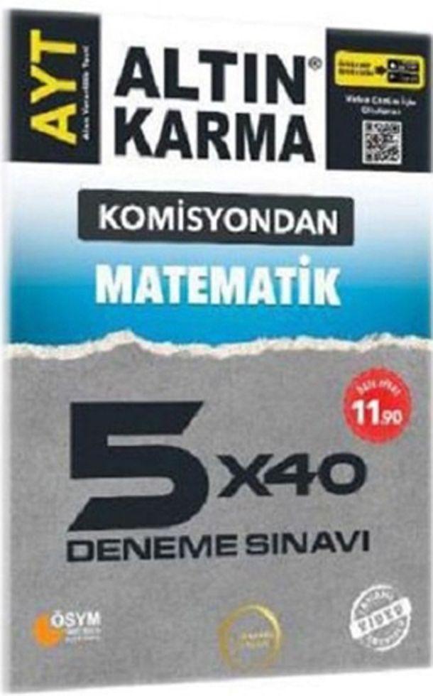 Altın Karma AYT Matematik Komisyondan 5x40 Deneme Sınavı