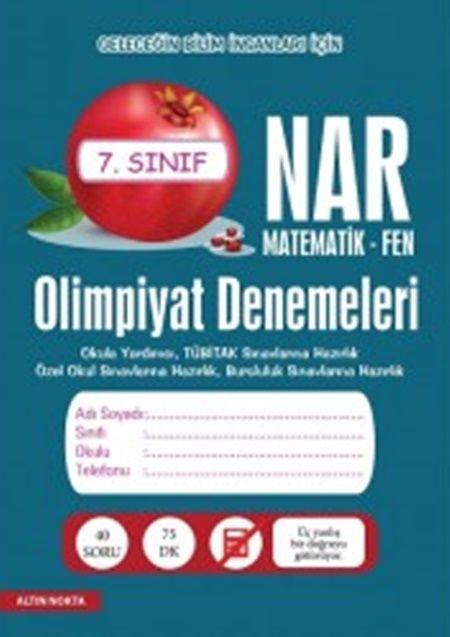 Altın Nokta Yayınları7. Sınıf Matematik Fen Olimpiyat Denemeleri