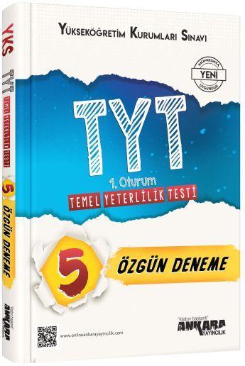 Ankara Yayıncılık TYT 5 Özgün Deneme