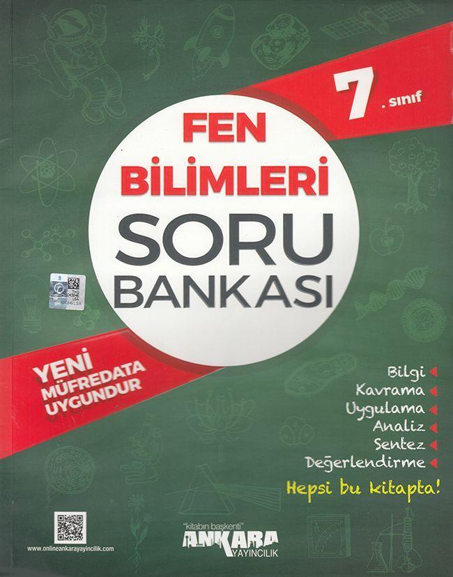 Ankara Yayıncılık 7. Sınıf Fen Bilimleri Soru Bankası