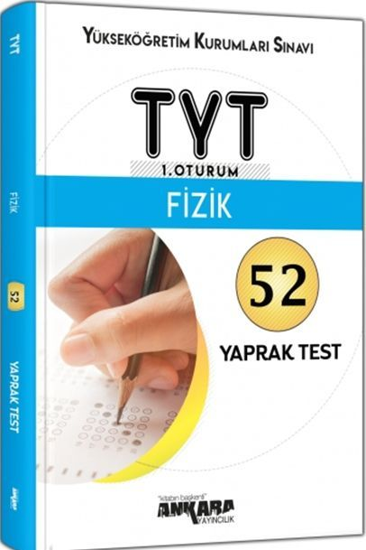 Ankara Yayıncılık TYT Fizik 52 Yaprak Test