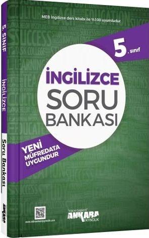 Ankara Yayıncılık 5.Sınıf İngilizce Soru Bankası