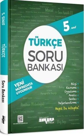 Ankara Yayıncılık 5. Sınıf Türkçe Soru Bankası