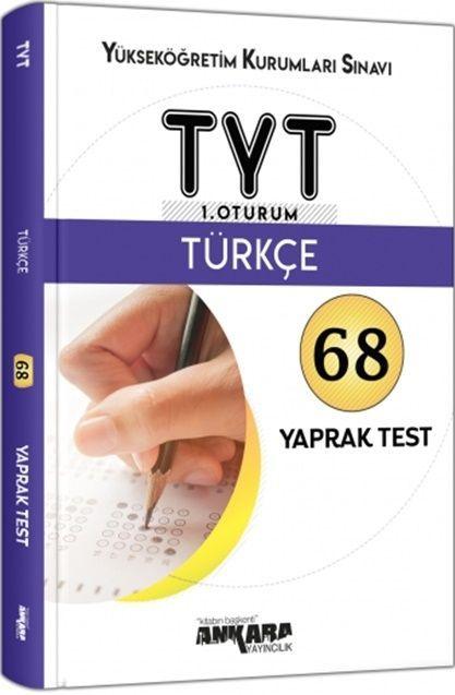 Ankara Yayıncılık TYT Türkçe 68 Yaprak Test
