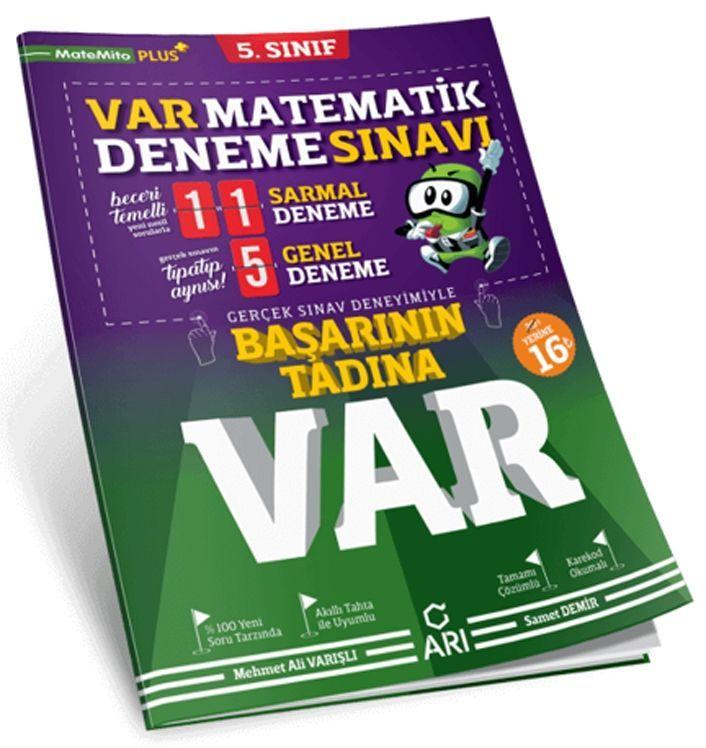 Arı Yayıncılık 5. Sınıf Matematik Var Deneme Sınavı