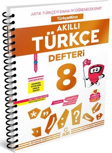 Arı Yayıncılık 8. Sınıf Türkçe Akıllı Defteri