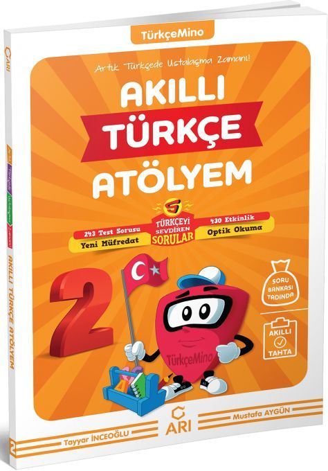 Arı Yayıncılık 2. Sınıf Türkçemino Akıllı Türkçe Atölyem