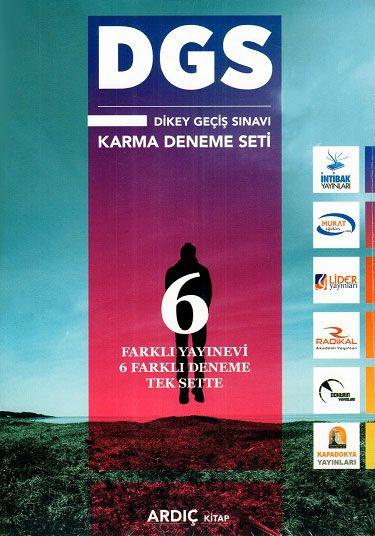 Ardıç Kitap DGS Karma 6 Deneme Seti