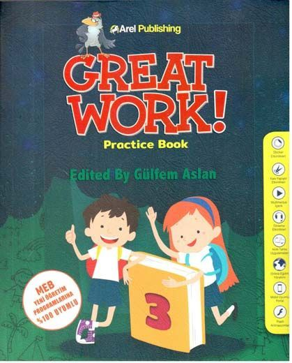 Arel Publishing 3. Sınıf Great Work Practice Book