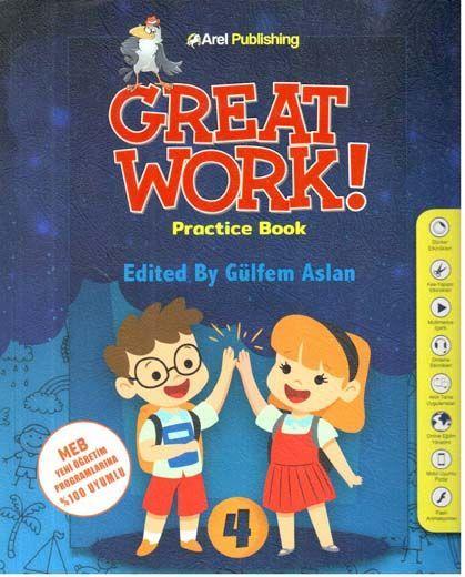Arel Publishing 4. Sınıf Great Work Practice Book