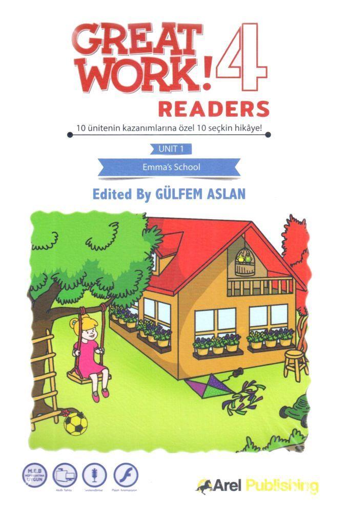 Arel Publishing 4. Sınıf Great Work Readers Set