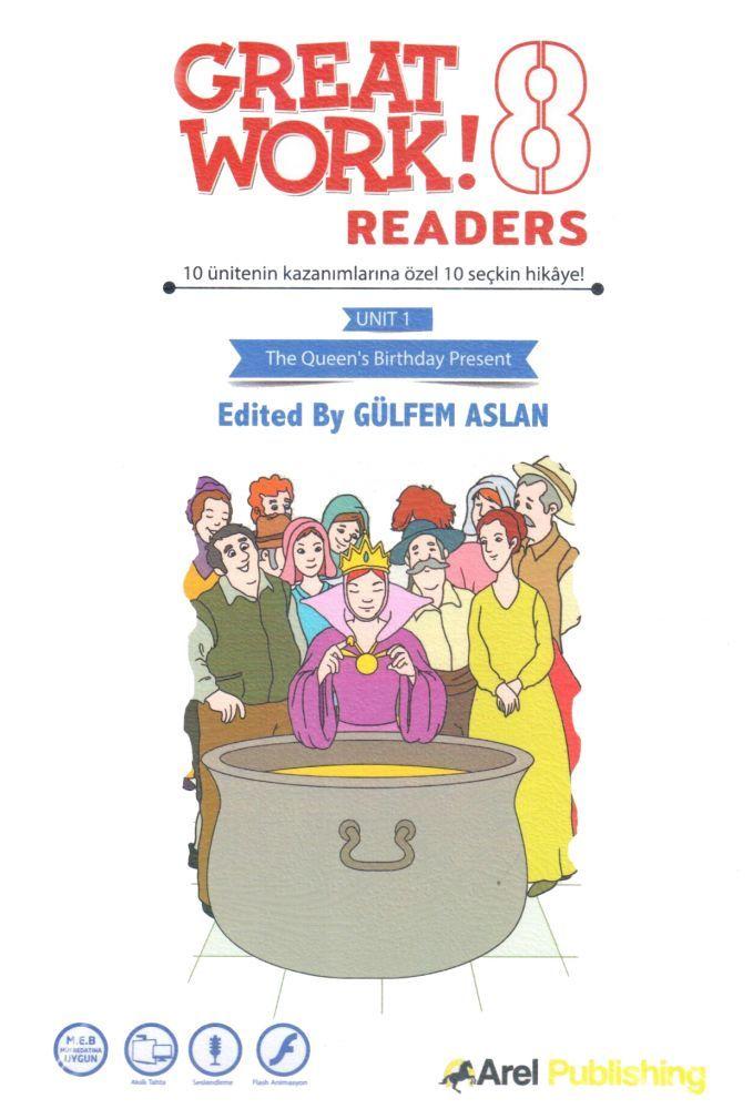 Arel Publishing 8. Sınıf Great Work Readers Set