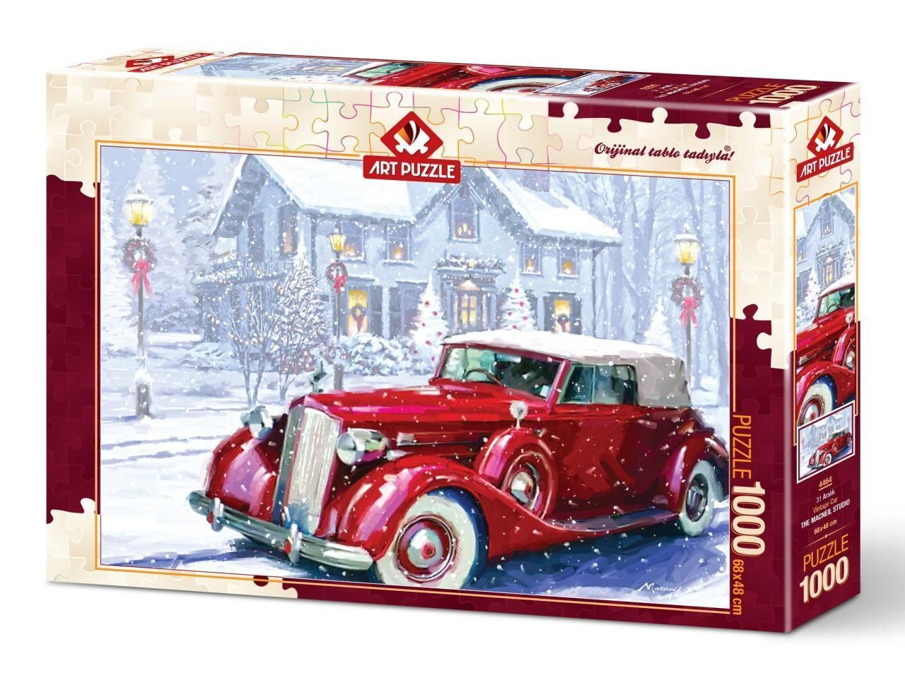 Art Puzzle 31 Aralık 1000 Parça