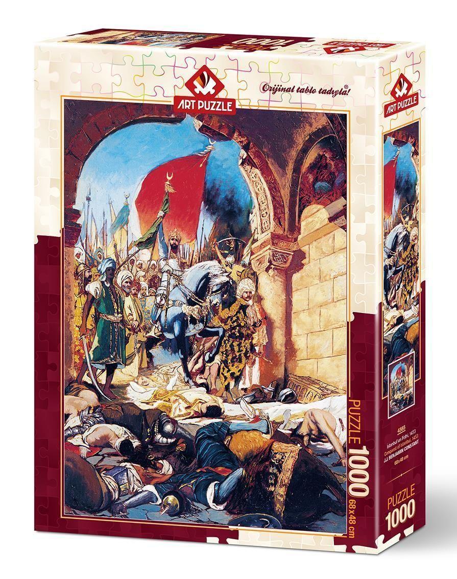 Art Puzzle İstanbul\'un Fethi,1453 1000 Parça
