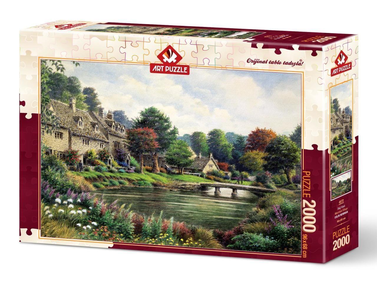 Art Puzzle Dağ Köyü 2000 Parça