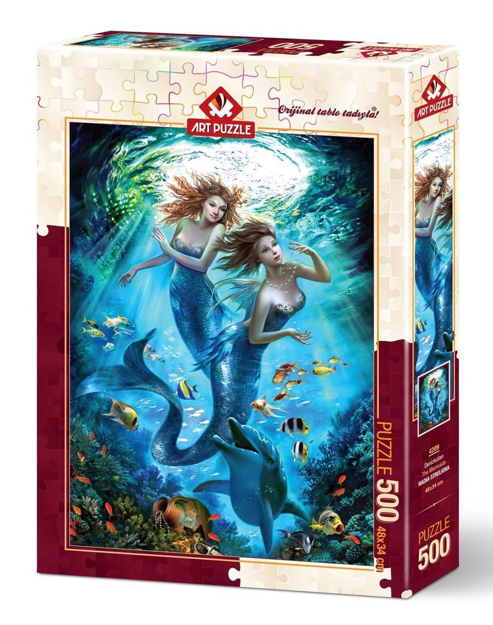 Art Puzzle Denizkızları 500 Parça