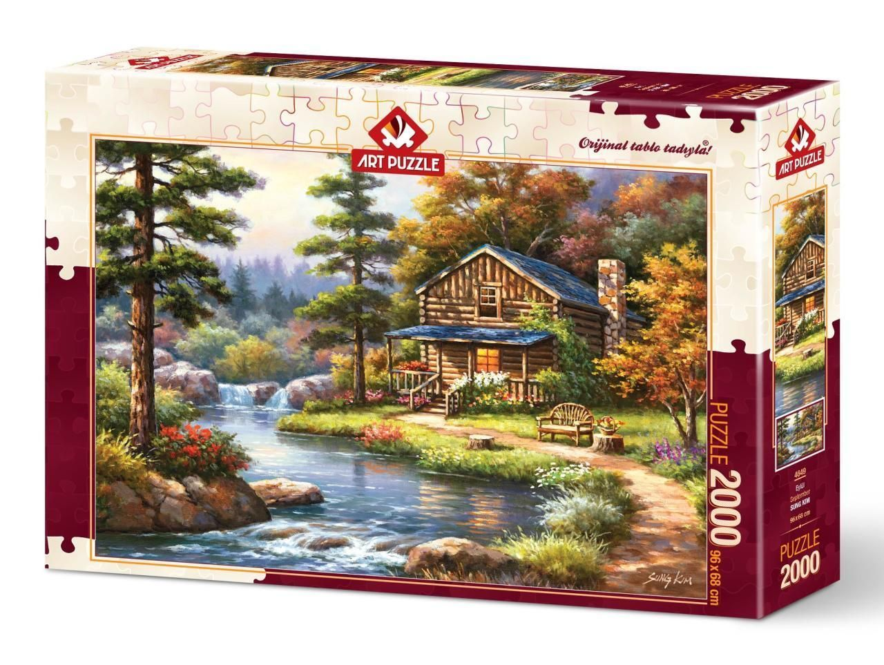 Art Puzzle Eylül 2000 Parça