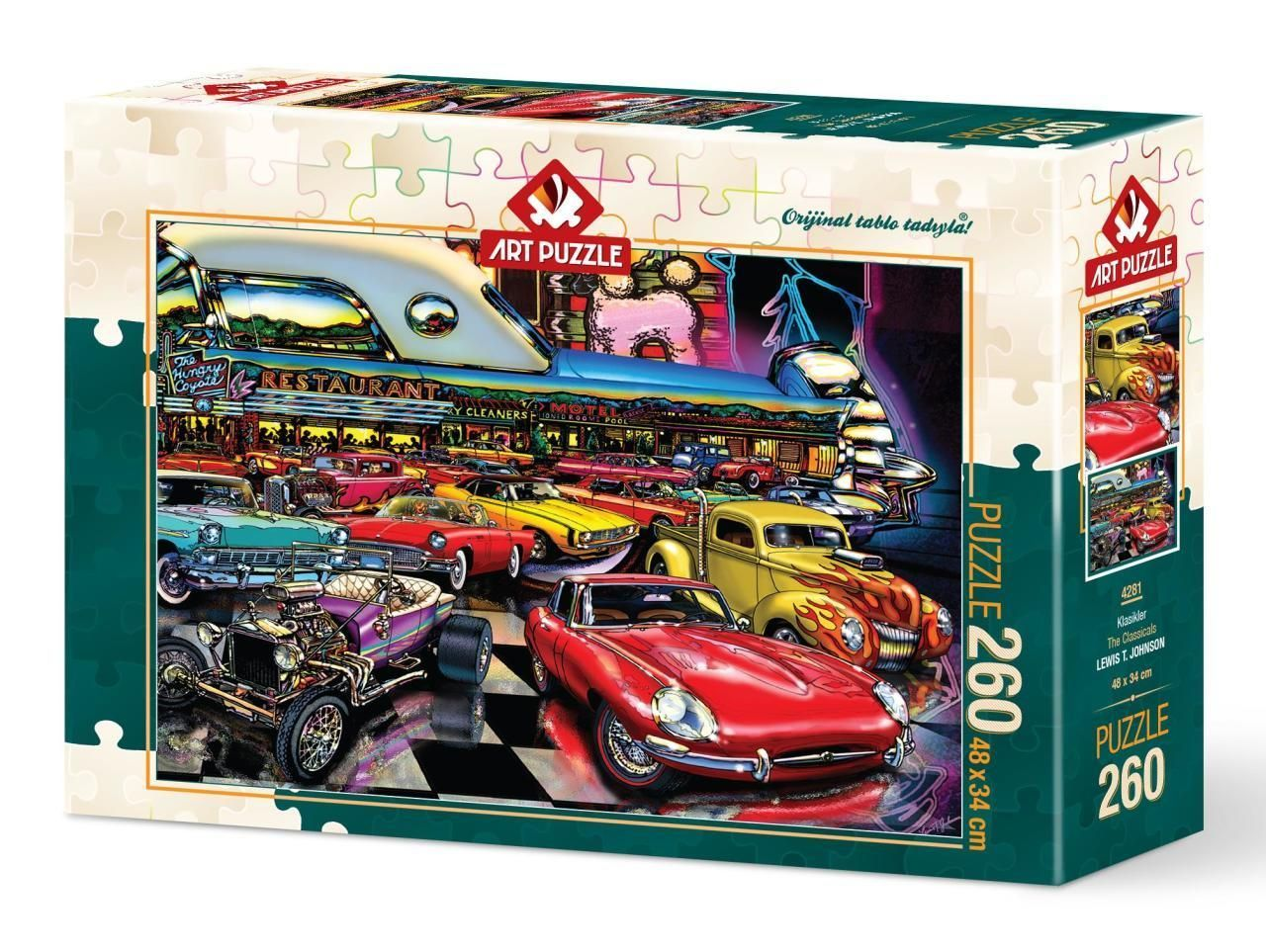 Art Puzzle Klasikler 260 Parça